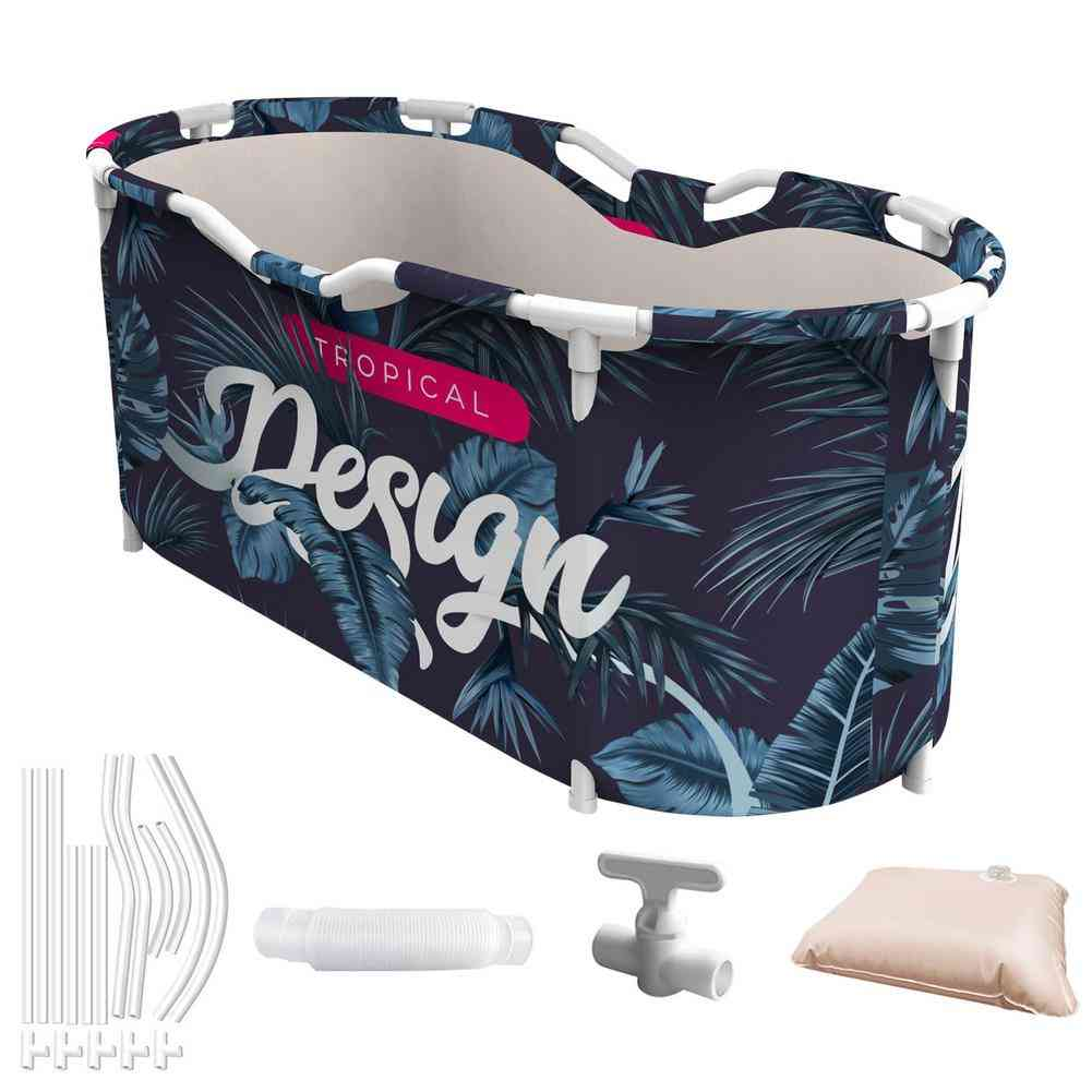 Waterproof Thickened Adult Family Spa Bathtubs Large Size Household Bathing Bucket