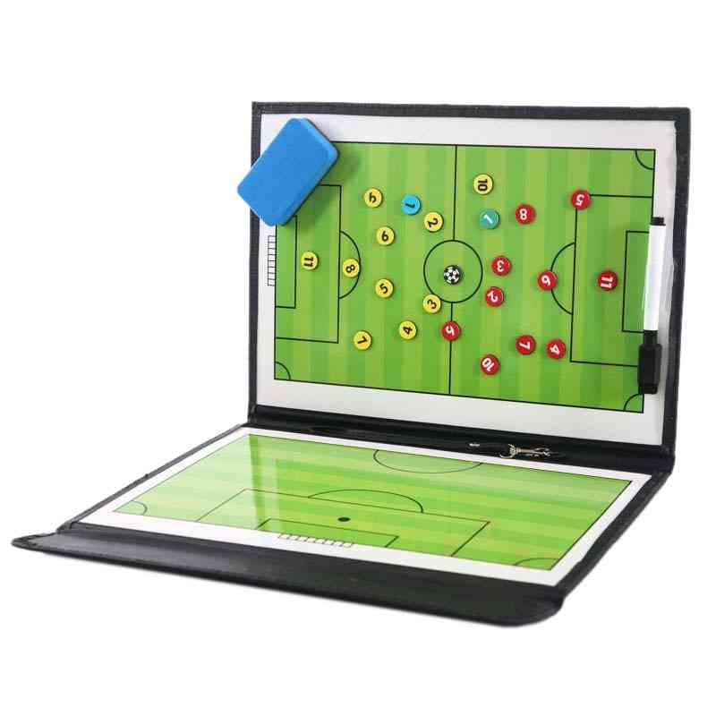 Portable Training Assistant Equipments Football Soccer Tactical Board
