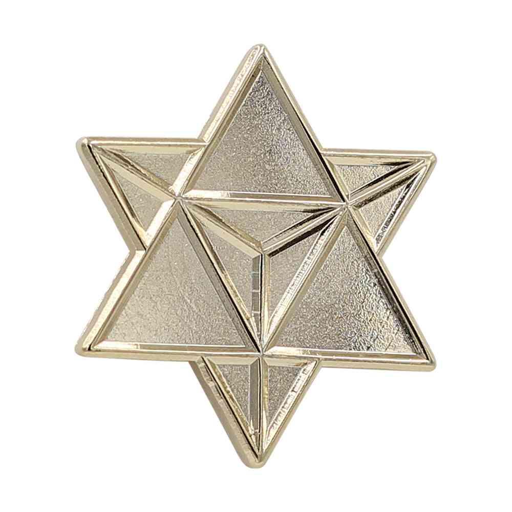 Star Merkaba– Enamel Pin