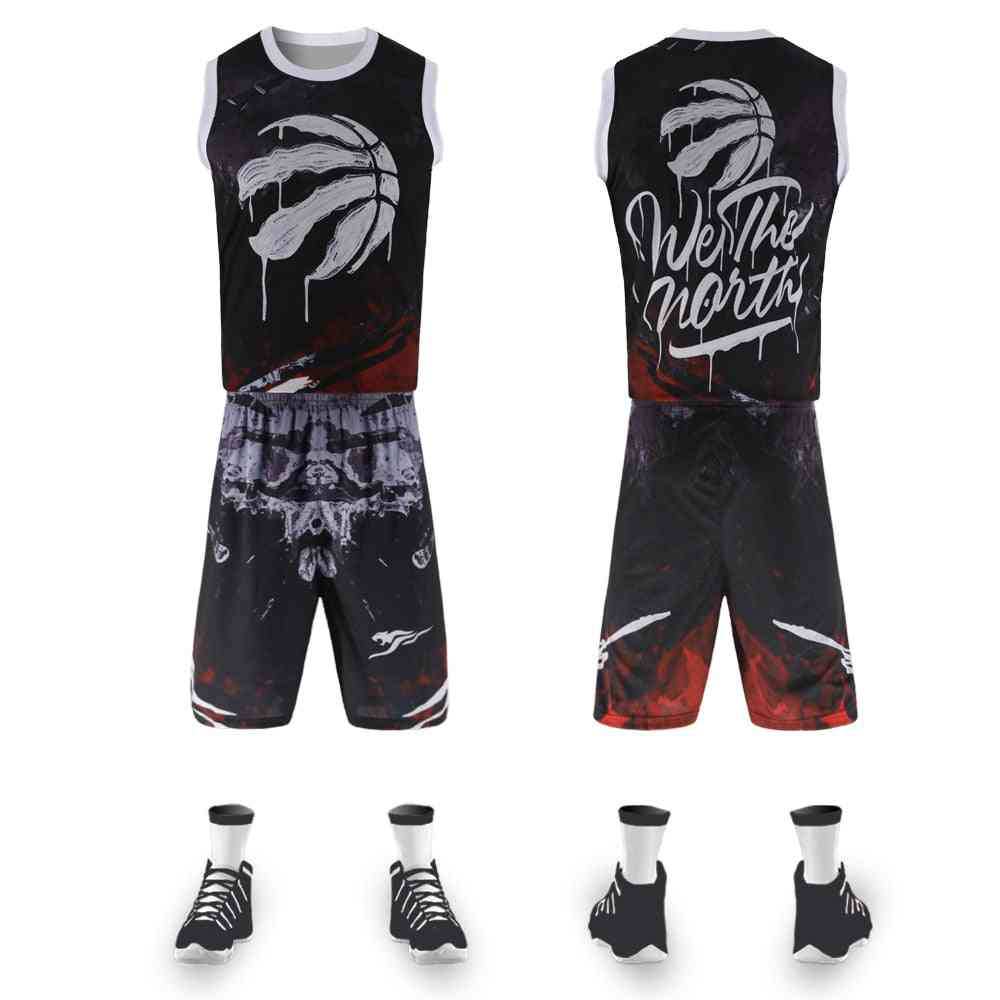 Street Basketball Breathable Training Suit Retro Basketball Jersey