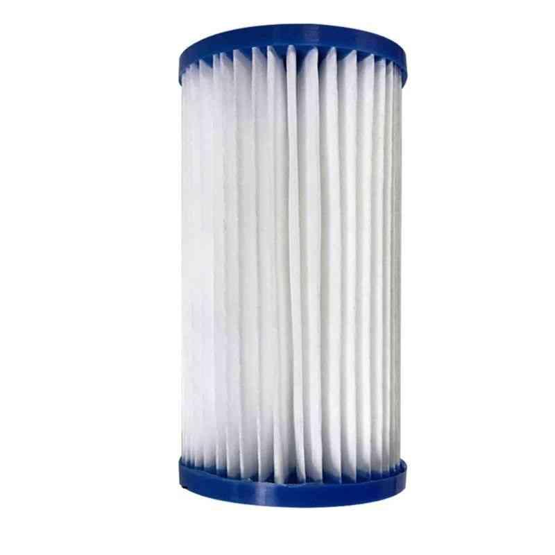 Pool Reusable Filter, Cartridge Easy Efficient Strainer Tube