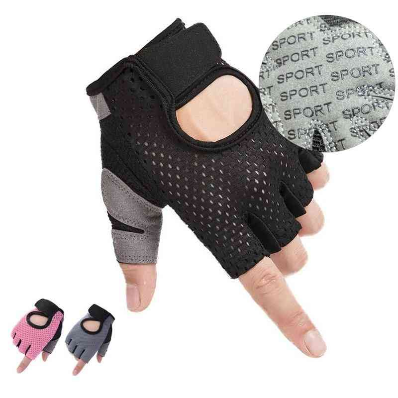 Half Finger- Weightlifting Non-slip, Gel Pad Cycling, Hiking Glove