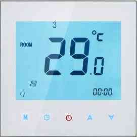 Touchscreen Colourful Programmable Thermostat For On & Off Control