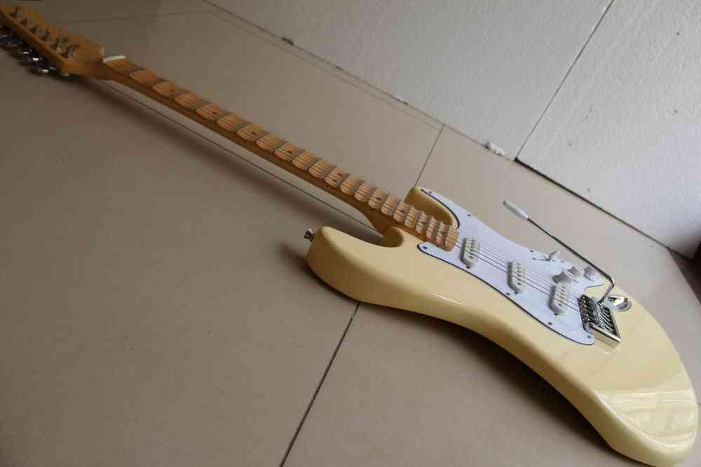 Electric Guitar With Scalloped Fingerboard