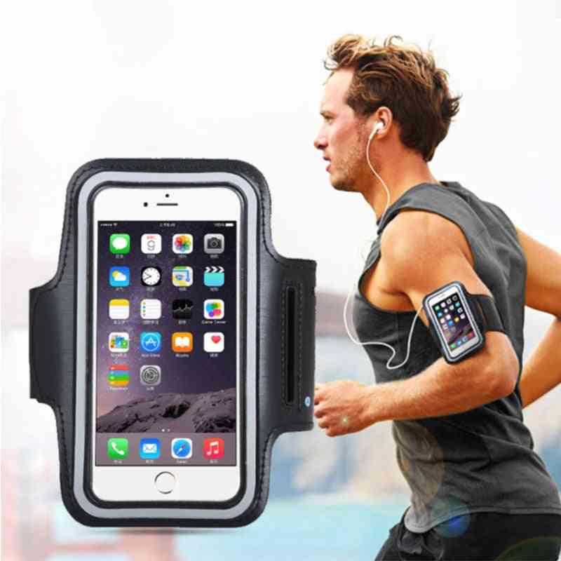Sport Arm Band, Waterproof Gym Running Armband, Smartphone Handbags, Sling Running, Gym Fitness Cover