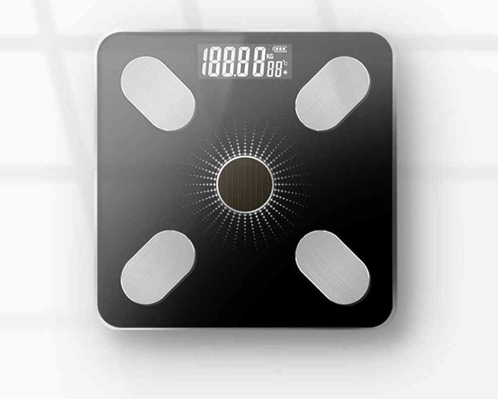 Solar Charging App Bluetooth Intelligent Electronic Weight Scale