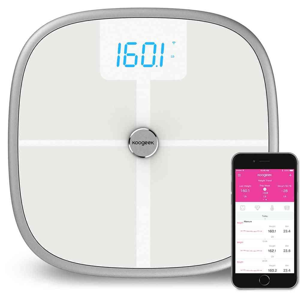 Digital Body Fat Weight Scale