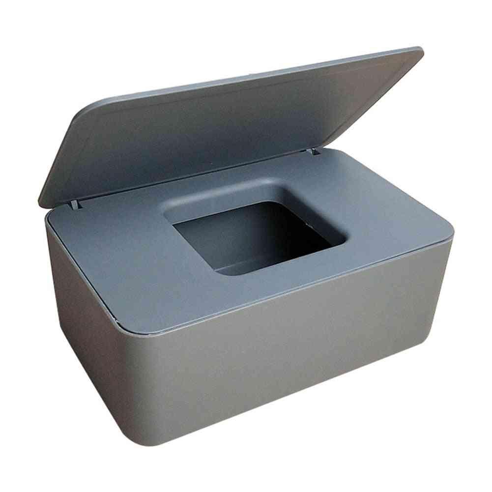Dustproof Tissue Storage Box Case Wet Wipes Dispenser Holder
