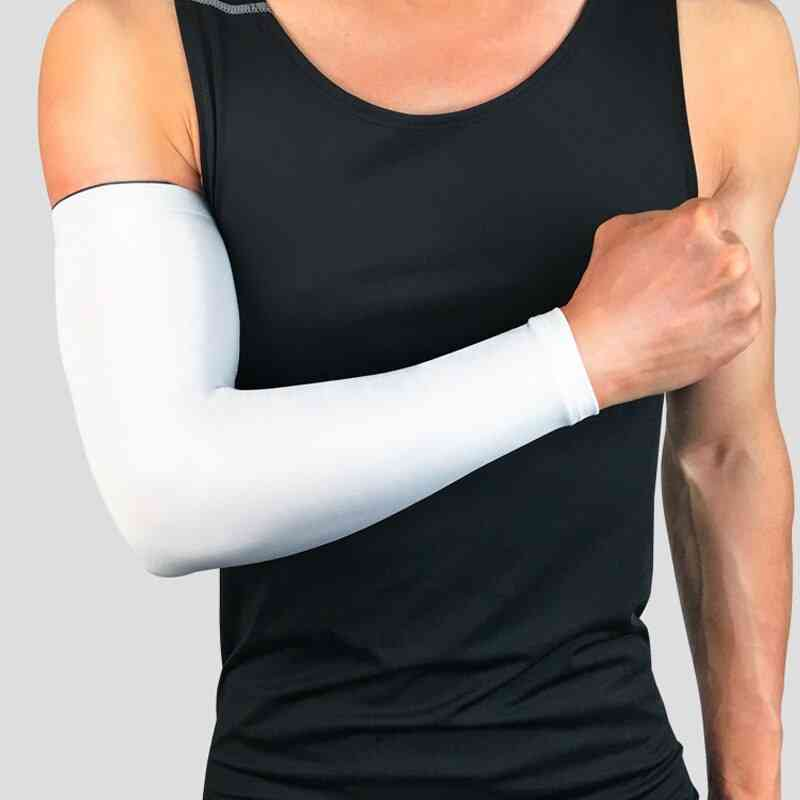 Long Basketball Elbow Support Sun Sleeves