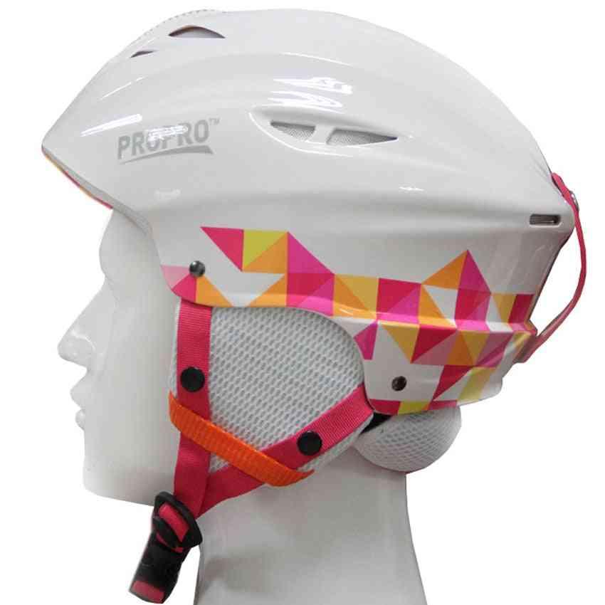 Half-covered Skiing Helmets