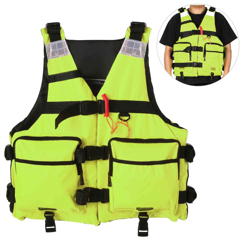 Reflective Life Jacket For Kayaking Fishing Sailing