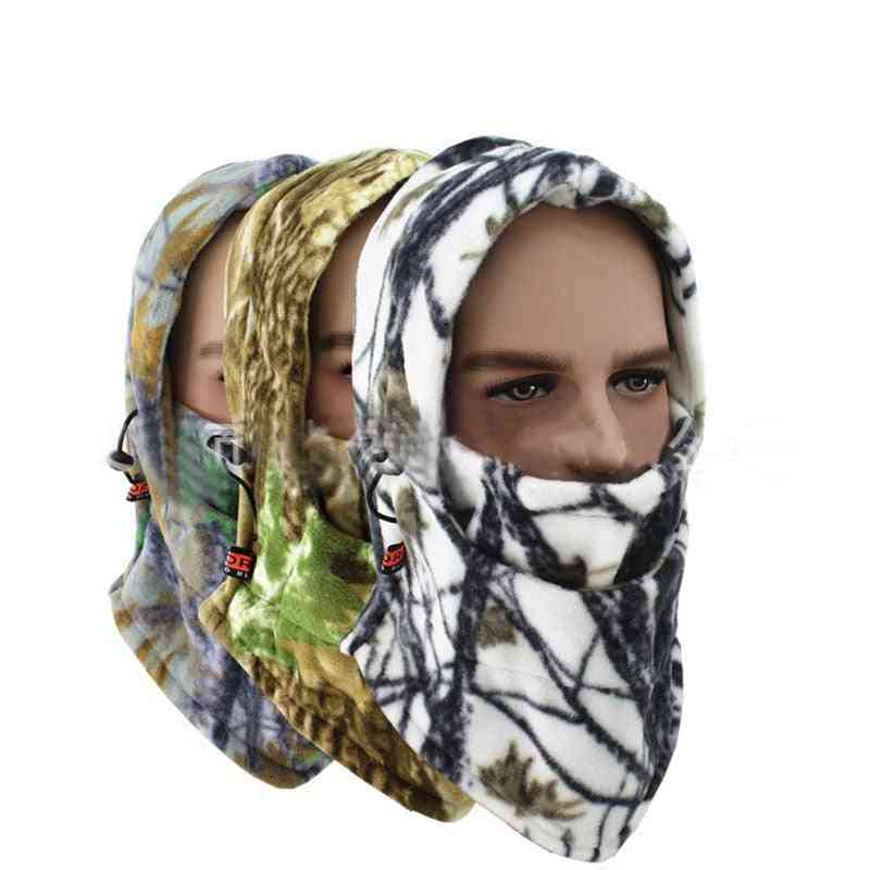 Warm Fleece Hat  Neck Sleeve Special Forces Mask
