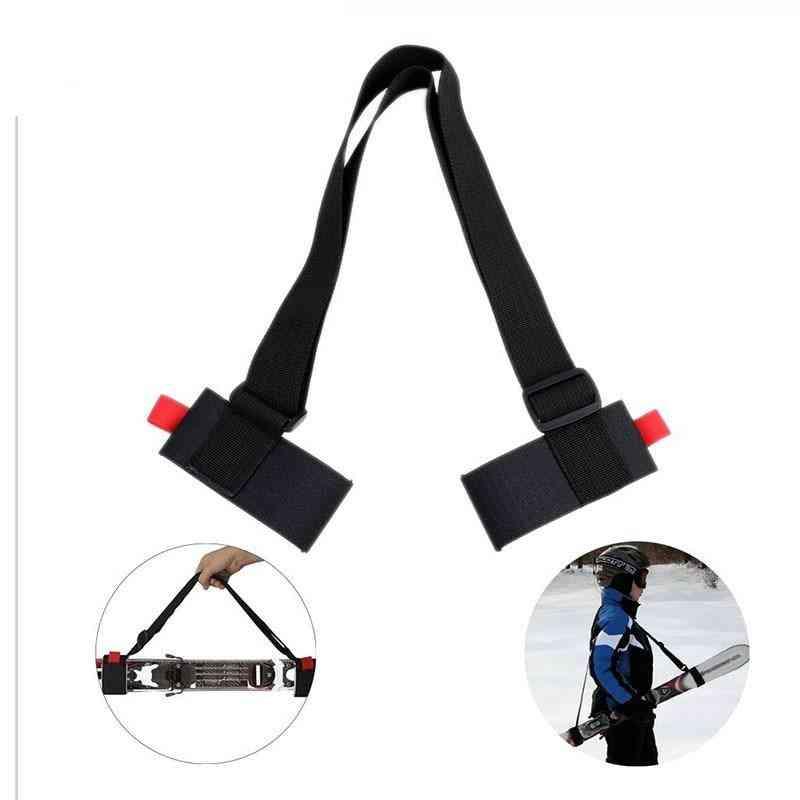Ski Snowboard Black Handbags Shoulder Carrier