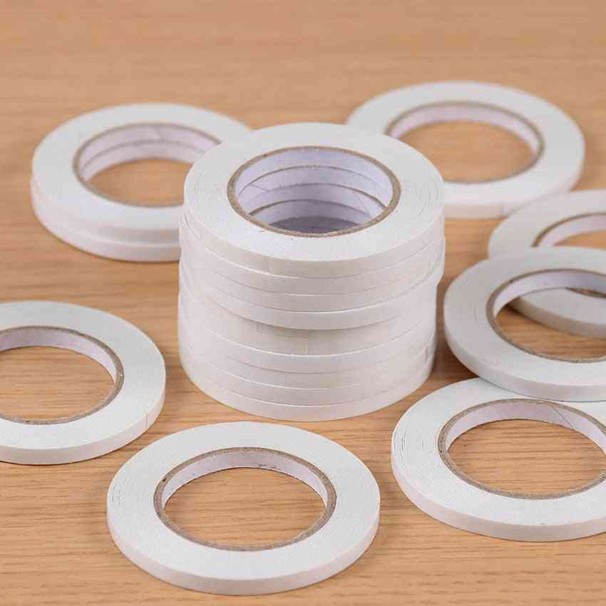 Super Slim Strong Adhesion Double Sided Sticky Tape, Powerful Two Side For Office