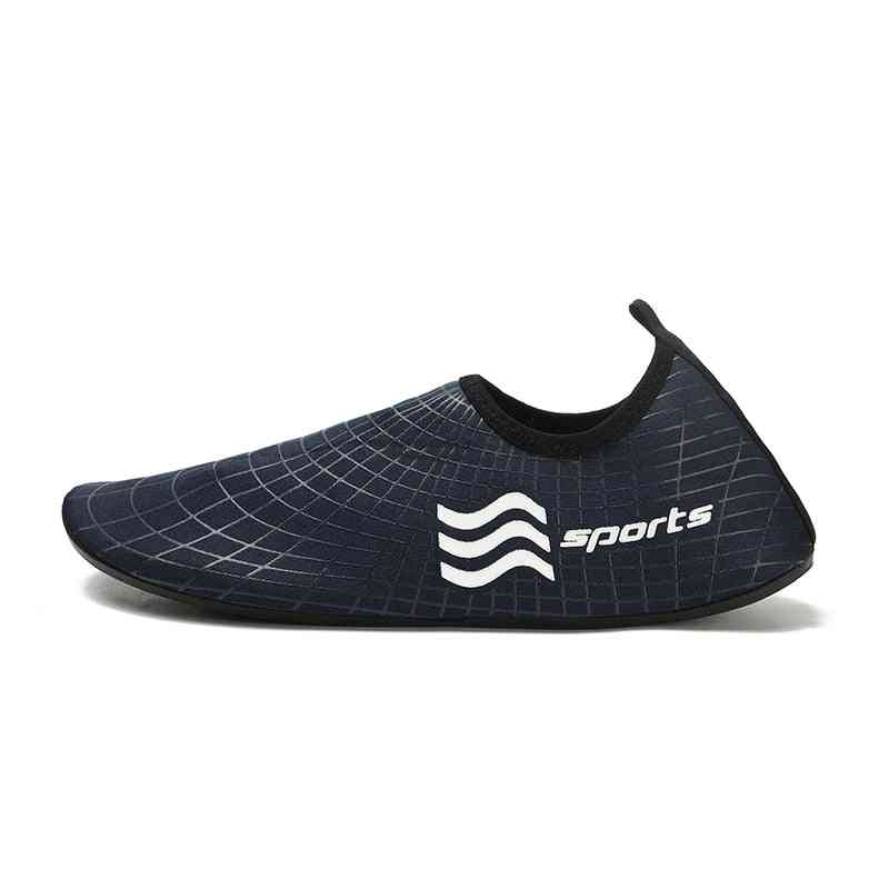 Comfortable Mans Beach Slippers, Soft Shoes, Man's Swimming Shoes