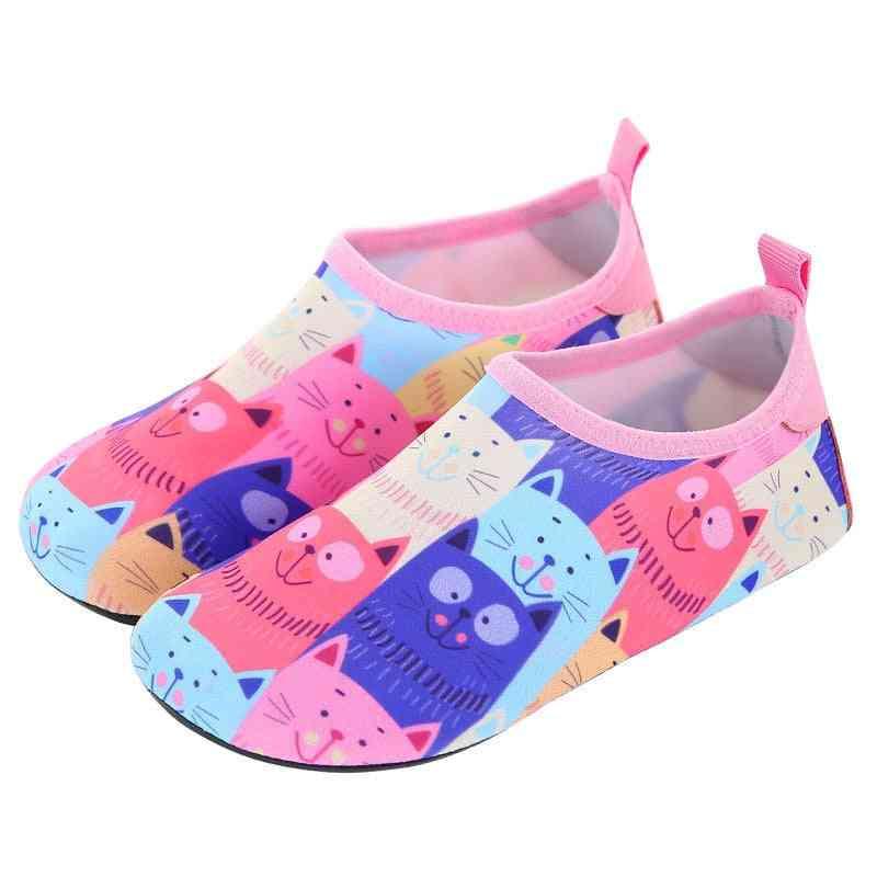 Children Water Shoes, Quick-dry Aqua Yoga Socks, Animal Soft Shoes