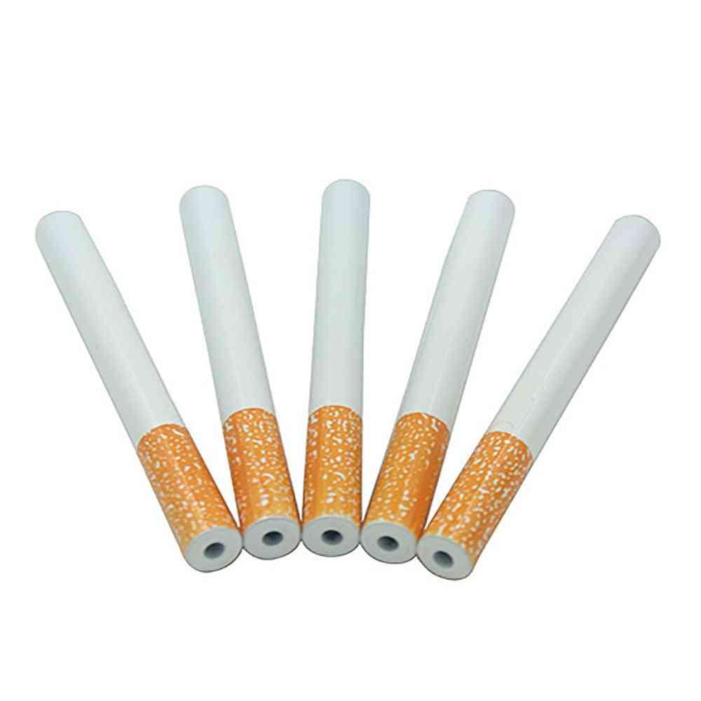 Cigarette Shape Hornet Grinder Metal Smoking Pipe