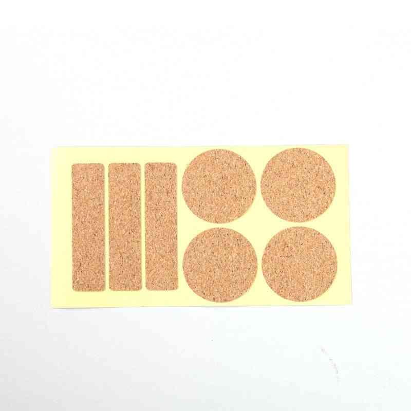 Rectangle Round Sharp Cork Wood Message Board Phellem Cork Wooden Wall Board With Sticker