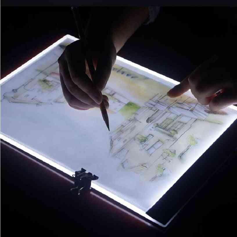 A4 Size Comics Sketch Copy Drawing Board, Art Painting Supplies