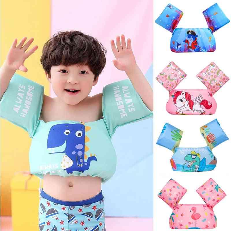 Baby Cartoon Float Tube Arm Sleeves Life Vest Jackets