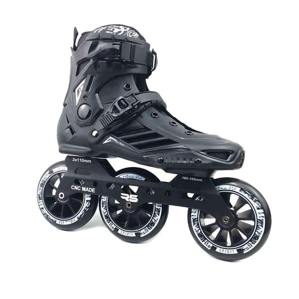 Professional Slalom Skate Adult Roller Skating Shoes ( Set 4)