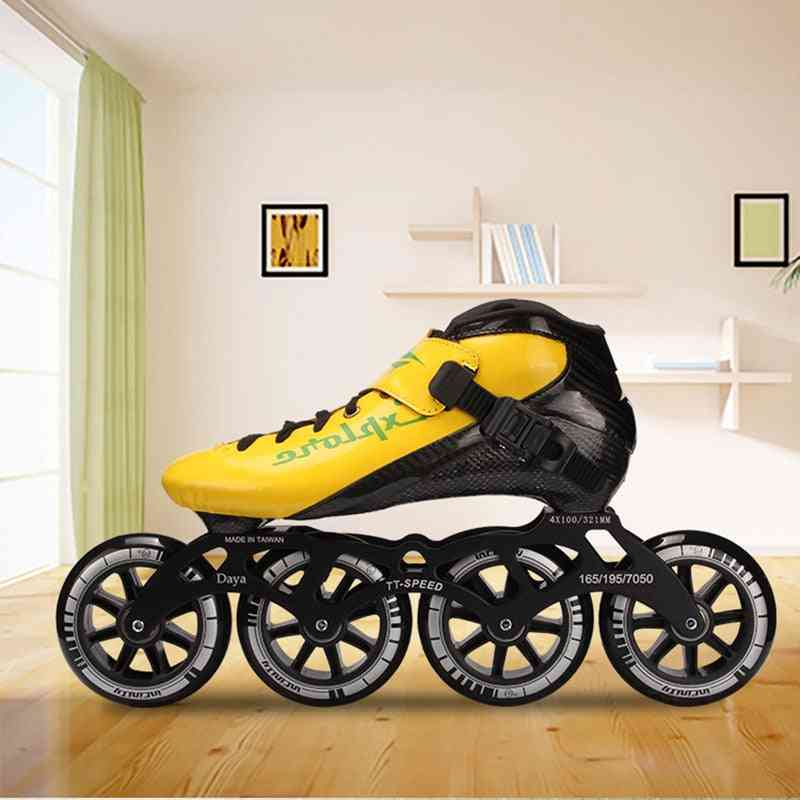 Carbon Speed Skates Shoes