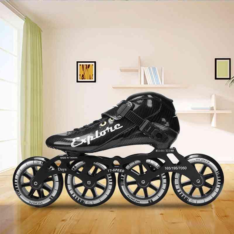 Carbon Fiber Speed Skates Shoes