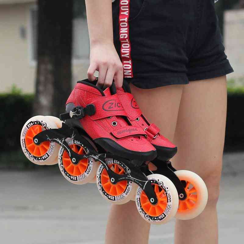 Speed Racing Long Street Speed Skates Shoes