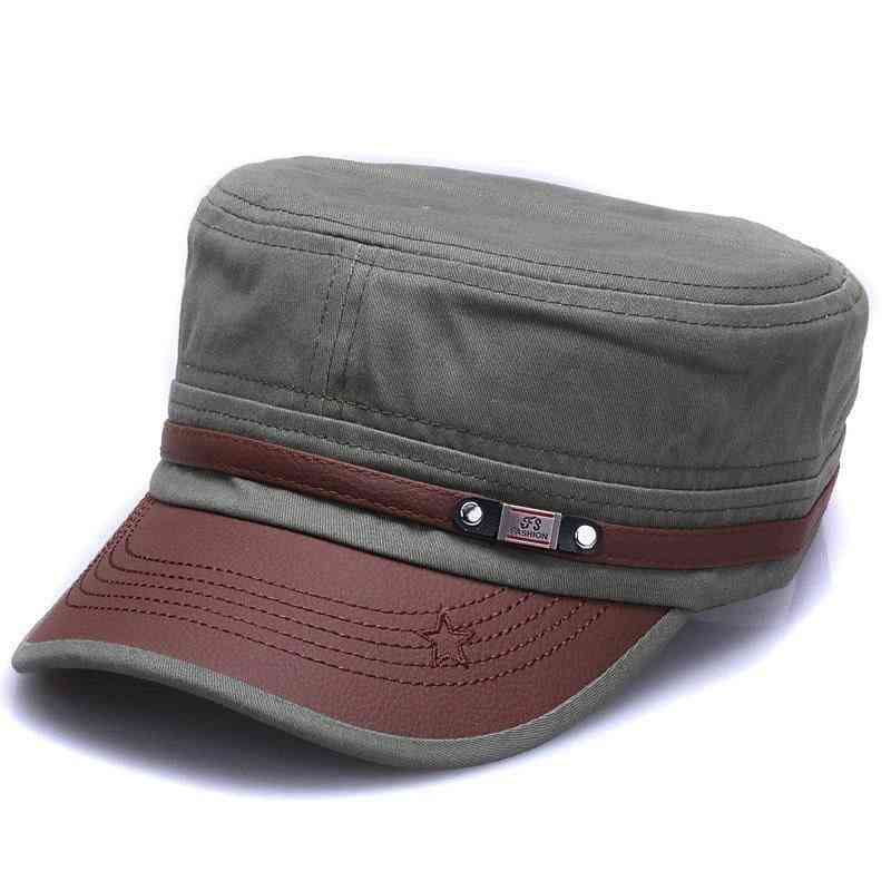 New Fashion Cotton Military Hats For Men