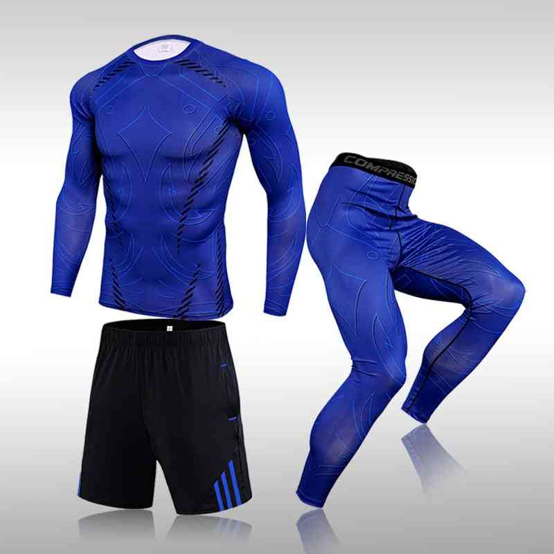 Gym Fitness Compression Clothes Running Jogging Sport Wear