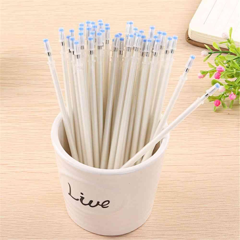 White Ink Gel Pen Refills Pen Replacement Diy Scrapbooking Tool Signature Rods School Stationery Office Supplies