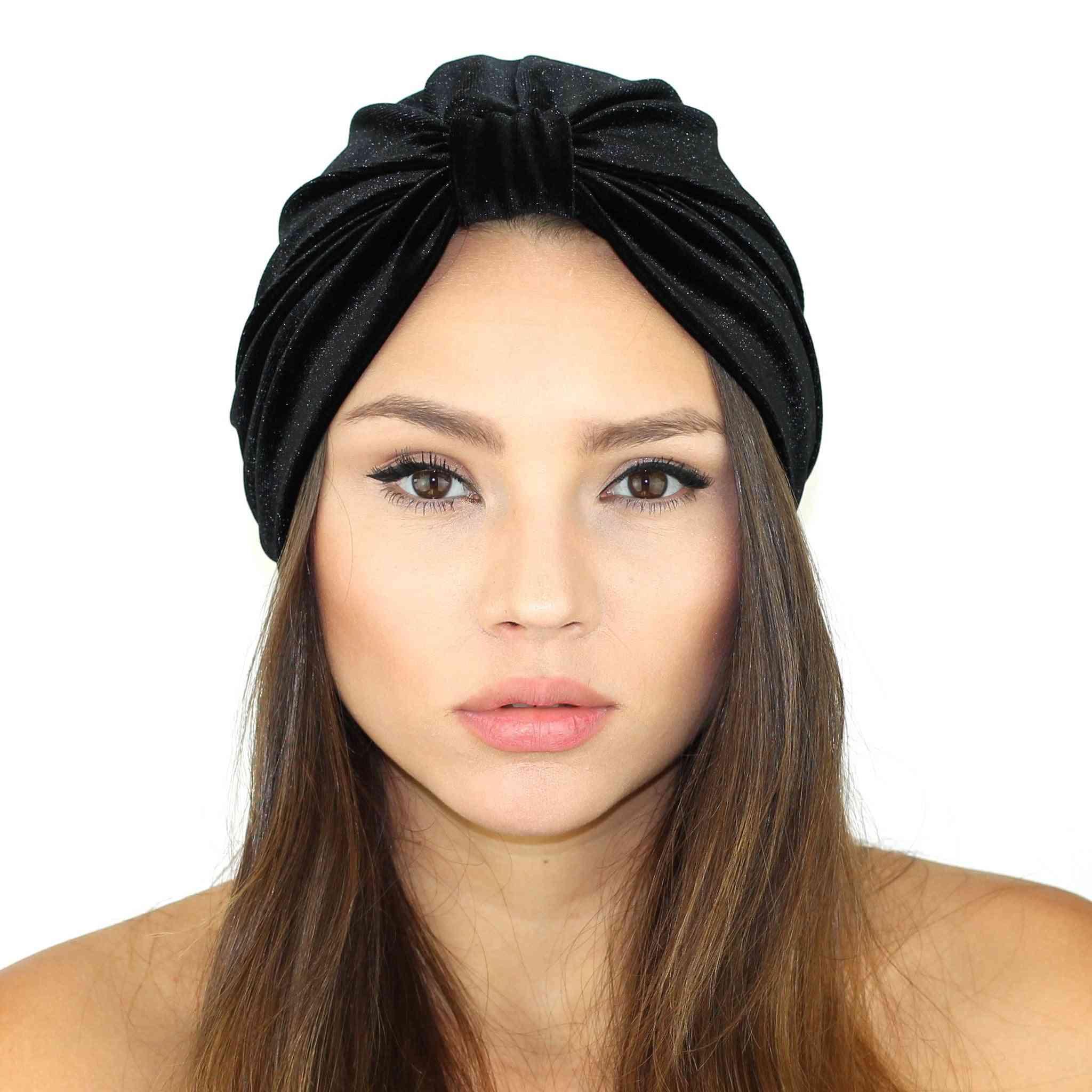 Stretch Velvet Turban
