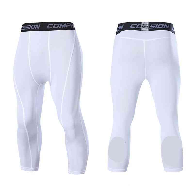 Men's Compression Tight Sports Gym Pants, Quick Dry Trousers