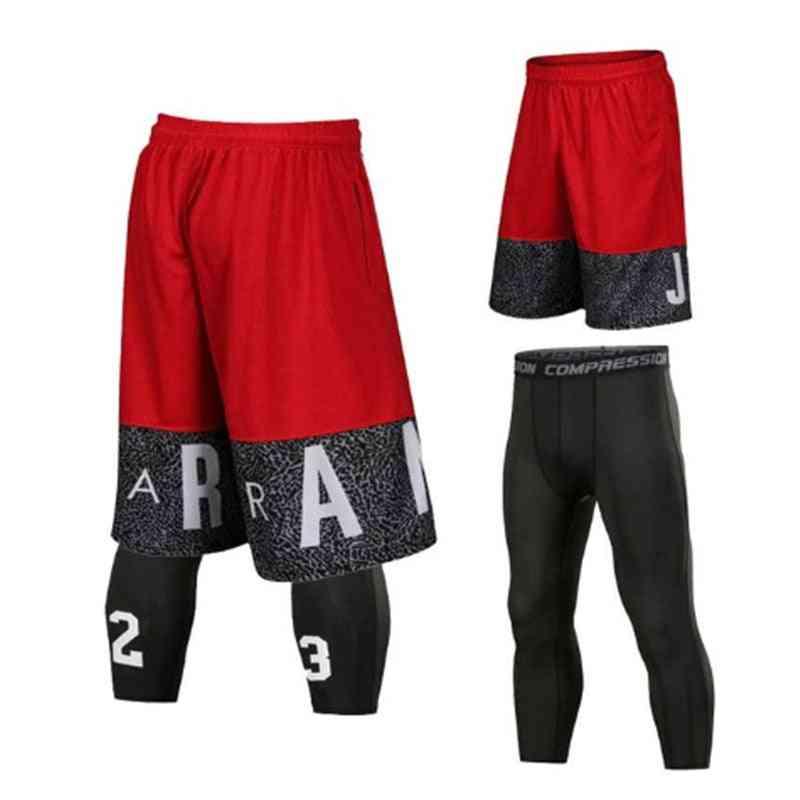 Men Sport Tights Leggings Men's For Running Pants