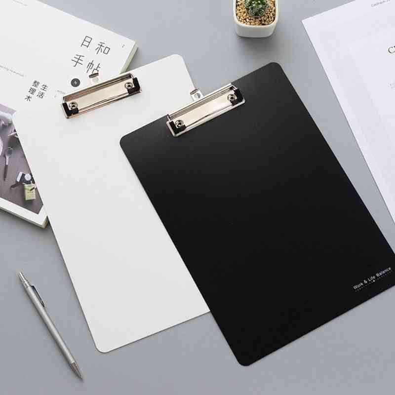 A4 Radnom Solid Color Clipboard, Writing, Drawing Boards, Pads, Stationary School, Office Supplies