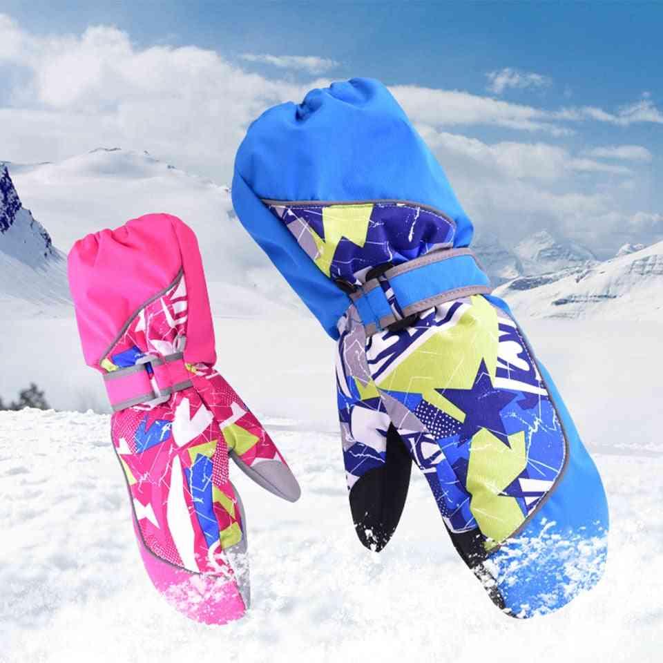 Children Winter Warm Ski Gloves