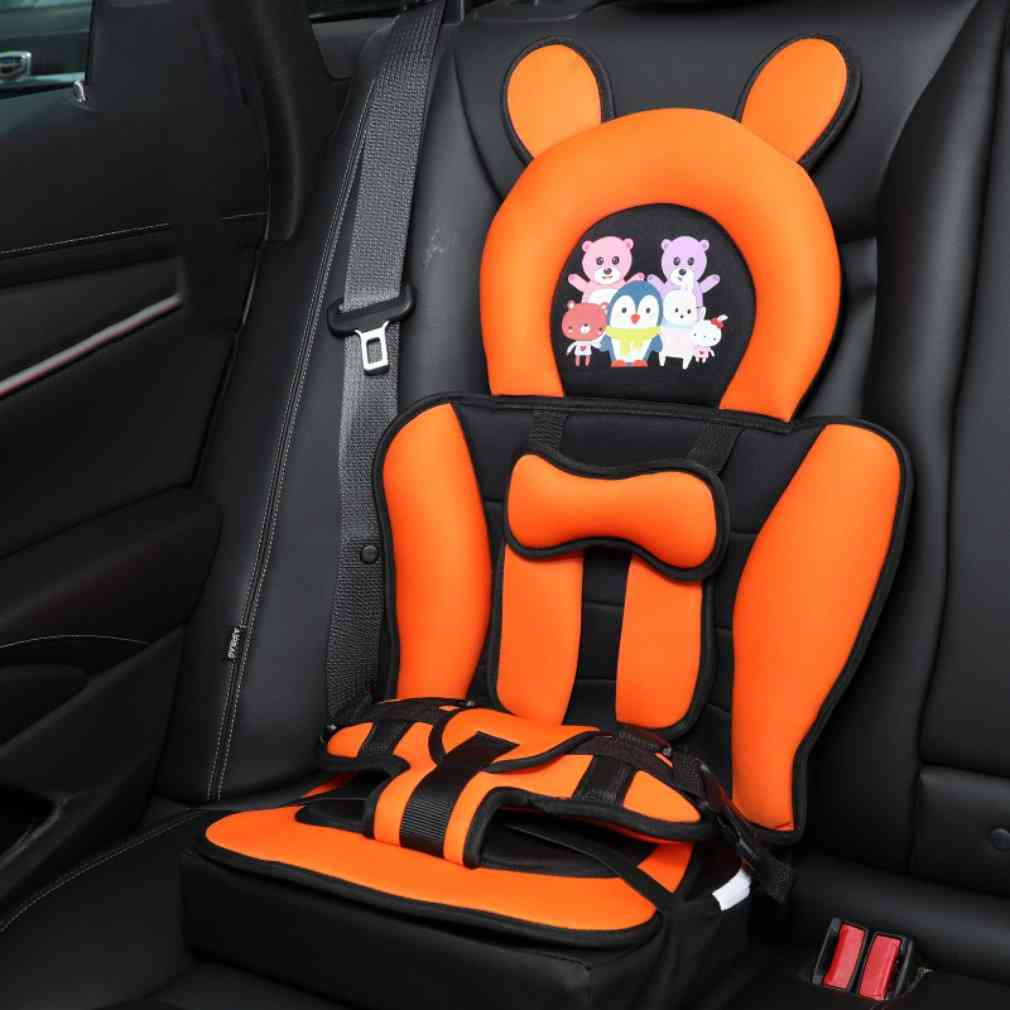 Portable Cartoon Baby Safety Seat For Infants, Comfortable