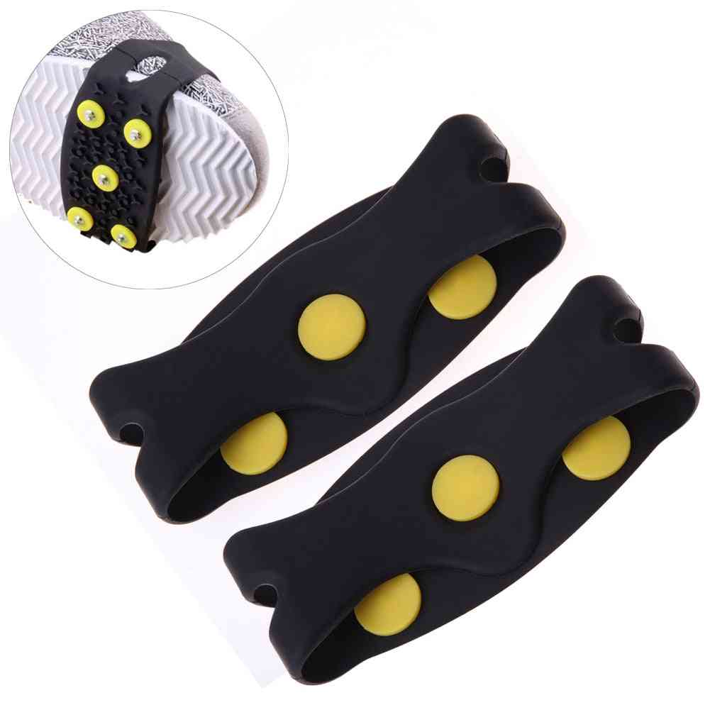 Anti-skid Snow Ice Climbing Shoe Spikes Ice Grips Cleats Crampons