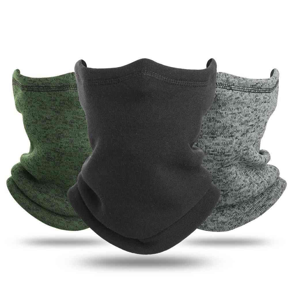 Cold Weather Winter Fleece Headband Neck Gaiter Tube