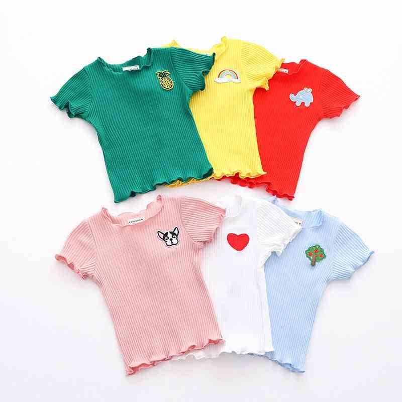 Baby Shirt, Short Sleeve Baby Girl T-shirt