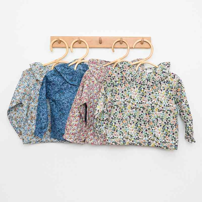 Girls Blouse, Baby Autumn Floral Printed Clothing