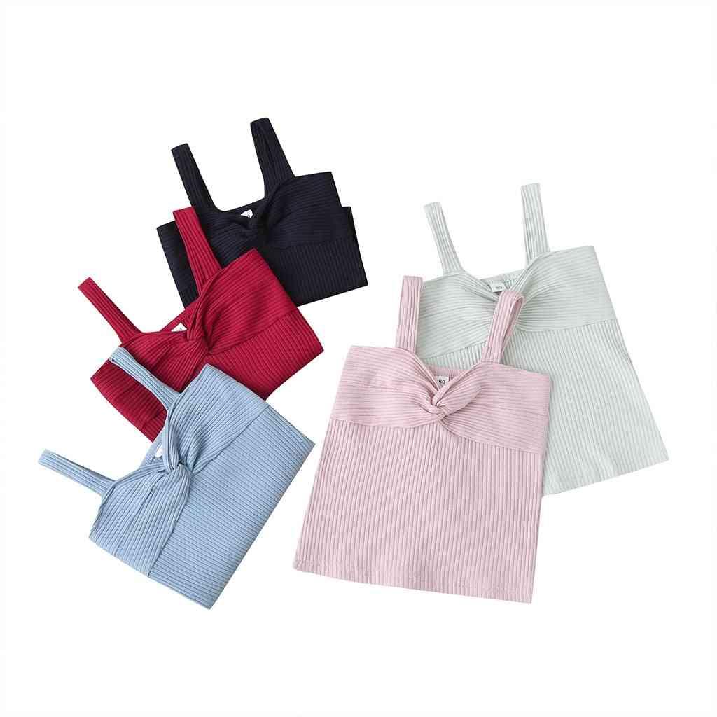 Baby Summer Clothing, Girl Sleeveless Vest Tops