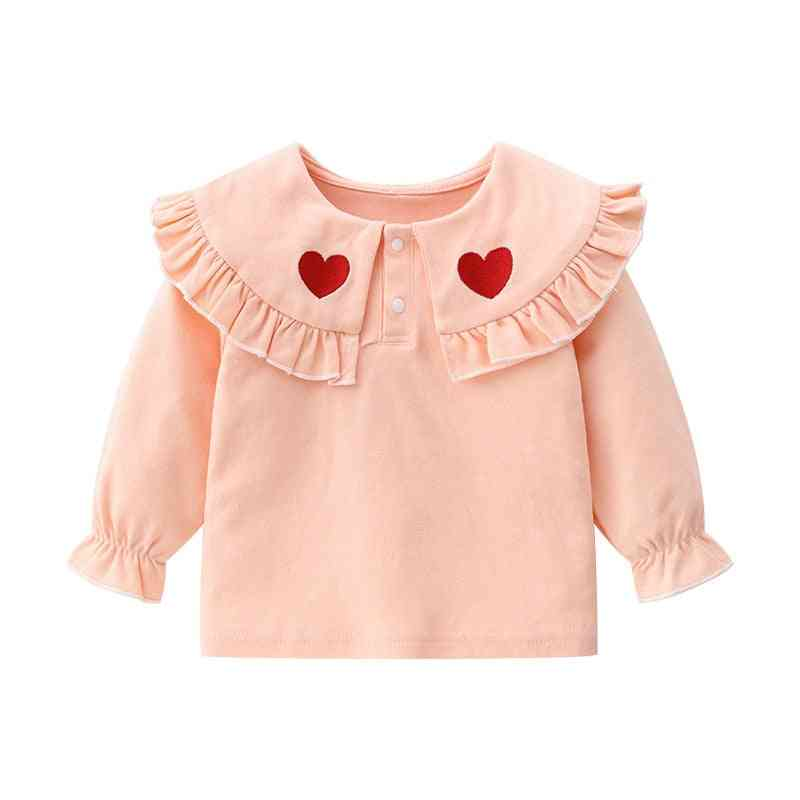 Baby Long Sleeve Cute Cotton Love T-shirt