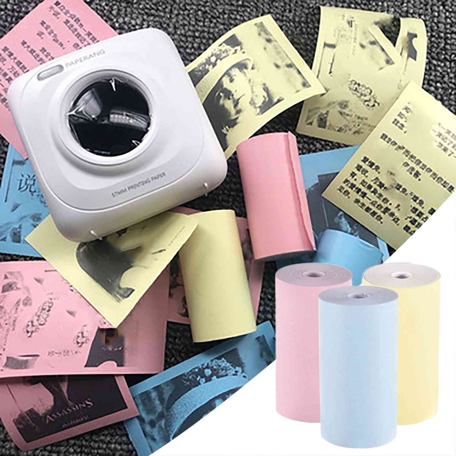 Thermal Paper Label Sticker Paper Color Photo Paper