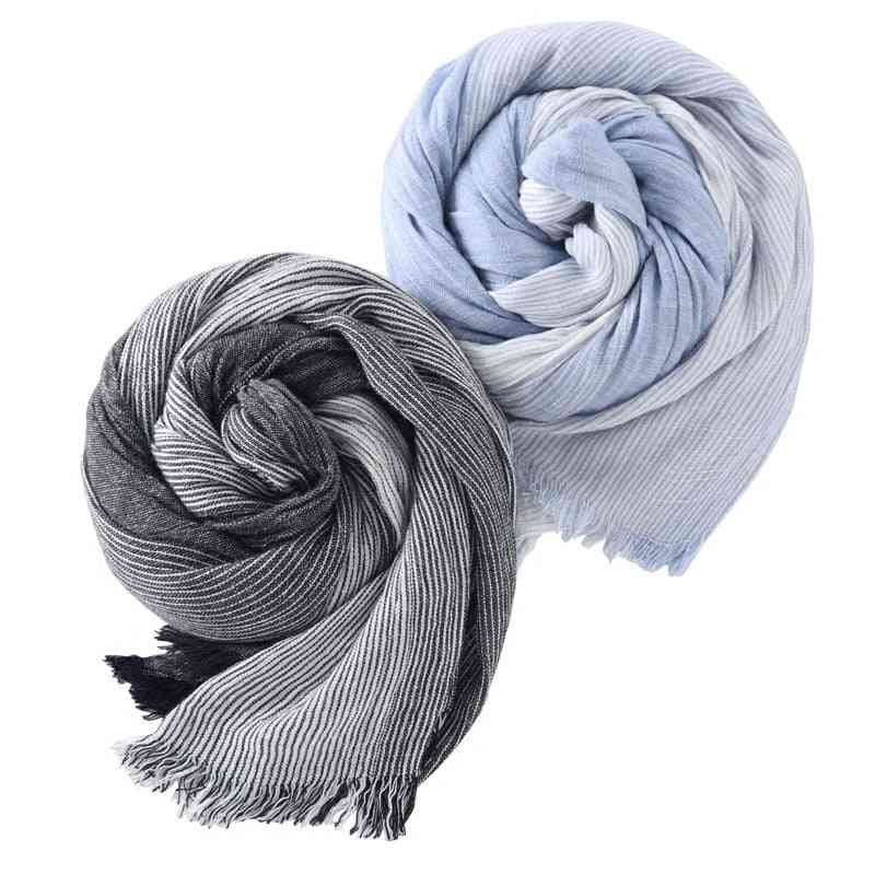 Wholesale Brand Winter Scarf Men Warm Soft Tassel