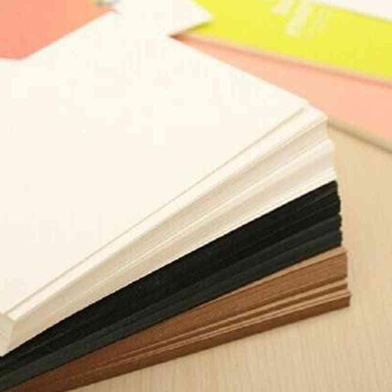 Blank Greeting Card Kraft Paper Postcard Vintage Blank Postcards