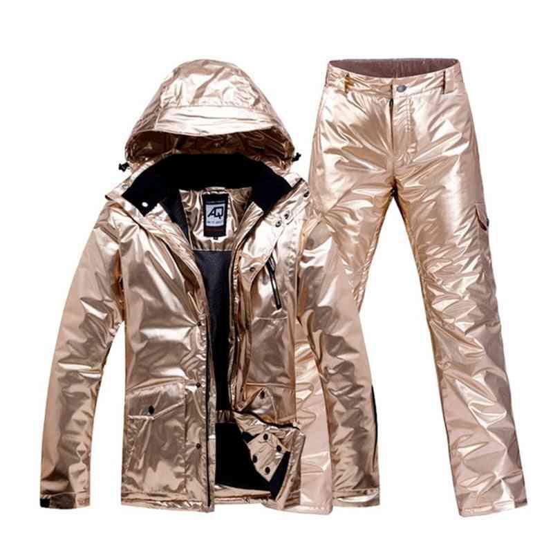 Warm Thick Ski Jacket Pant Set