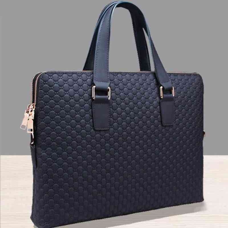 Genuine Leather Men Handbag
