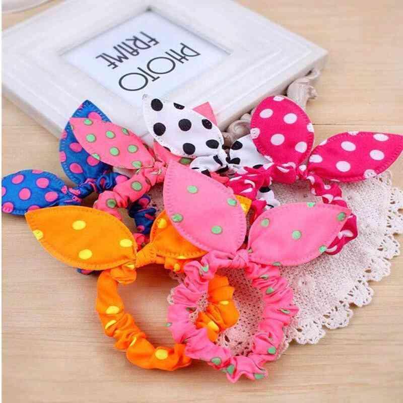 Bunny Ear Hair Ties-scrunchies