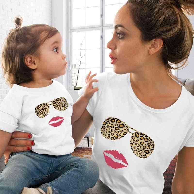 Eye Lashes Women And Kids T-shirt, Family Matching T-shirt